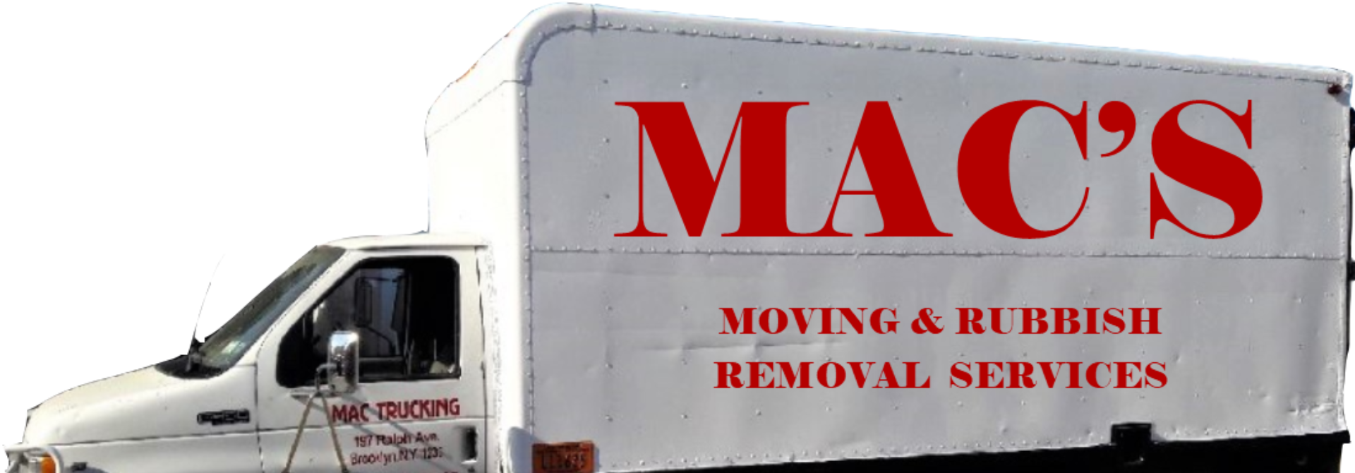 Mac's Moving /Rubbish Removal Services